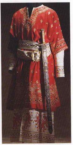 TRAJE DE SOLDADO DE ELITE DE MILAN EN LA BATALLE DE LEGNANO 1176
