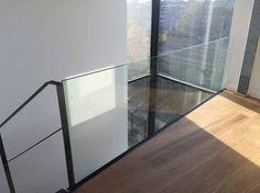 Een veilige glazen balustrade van Kenngott