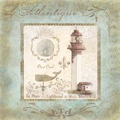 Coastal Lighthouse II <br/> Marie Elaine Cusson