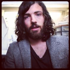 Lovely, lovely long-haired Scott Avett :)