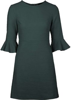 Womens pine green dress from Topshop - £42 at ClothingByColour.com