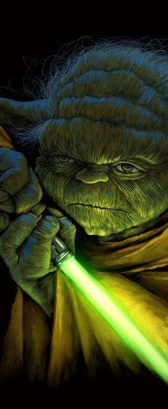 Star Wars Poster, illustration by Flaviano Oliveira - Ego - AlterEgo Star Wars Fan Art, Cadeau Star Wars, Images Star Wars, Nave Star Wars, Star Wars Painting, Star Wars Personajes, Star Wars Tattoo, Darth Vader, Star Wars Wallpaper