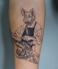 5fc50befc Chef ink #Mashpotato | Hunter Chef Tattoo | Chef tattoo, Culinary ...