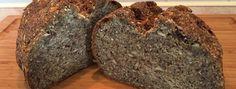 Hüttenbrot mit Chia, Leinsamen und Hüttenkäse #lchf #lowcarb #keto #ketogen