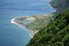 Faial Azores - The Blue Island Island Holidays, Azores, Islands, River, Green, Blue, Outdoor, Outdoors, Outdoor Games