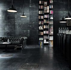 #allblack #interior #design