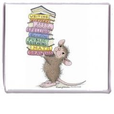 """Magnet - Smarty Pants"", Stock #: M-234, from House-Mouse Designs®. This item was recently purchased off from our web site, www.house-mouse.com. Click on the image to see more information."