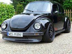 German Look Air-cooled. Auto Volkswagen, Volkswagon Van, Custom Vw Bug, Custom Cars, Vw Bugs, Vw Rat Rod, Vw Super Beetle, Bug Car, Sweet Cars