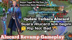 Alucard Revamped Voice Baru!! Selamat Tinggal  Not Bad - Alucard Revamp ... Alucard Mobile Legends, The Voice, Baseball Cards