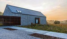 Organic Architecture: Gabion House