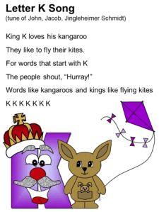 Letter K Song Lyrics