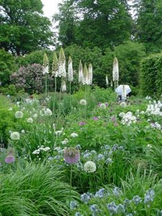 Modern french country garden decor ideas 29
