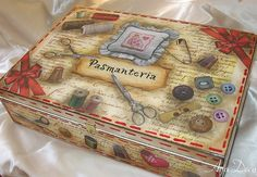 Decoupage Box by Ayadeco.pl, via Flickr