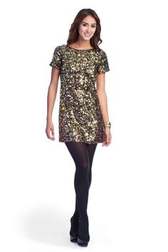 I. Love. Sequins.   So I. Love. This dress.