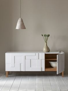Wooden #sideboard with drawers ALBA by PINCH | d#esign Russell Pinch