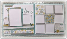 Scrapbooking Kits: Georgie 6 Page Scrapbook Kit - $23 (Only TWO left in stock)