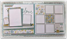 Scrapbooking Kits: Georgie Scrapbook Kit