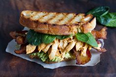Bacon Sriracha Chicken Sandwich | aidamollenkamp.com