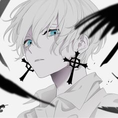 May 2020 - This Pin was discovered by ♡ 뱄 Anime Angel, Ange Anime, Anime Demon, Anime Fallen Angel, Anime Eyes, Fan Art Anime, Anime Oc, Anime Artwork, Kawaii Anime