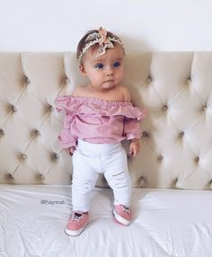 Baby Girls Clothing Ideas In 2018 2019 25 Baby Kind, Cute Baby Girl, Baby Love, Baby Girls, Fashion Kids, Baby Girl Fashion, Outfits Niños, Kids Outfits, Baby Outfits