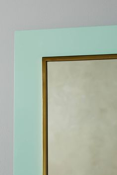 Mint Lacquered Mirror - anthropologie.com High Gloss, It Is Finished, Mint, Komodo, Mirror, Anthropologie, Furniture, Home Decor