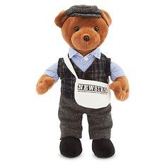Newsboy Plush Bear - Newsies: The Musical - Medium - 14 1/2''