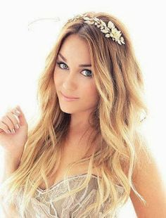 Lauren Conrad's Hair and Headband. ❤