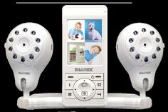 """(CLICK IMAGE TWICE FOR DETAILS AND PRICING) Baby monitor with audio and 2 cameras (free upgrade). Completely portable LIVE Snap video baby monitor with snapshot recording, night vision, 2"""" LCD screen and 2 cameras. See More Video baby monitor at http://www.ourgreatshop.com/Video-baby-monitor-C234.aspx"""