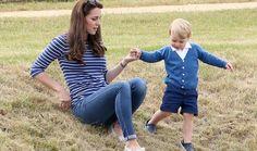 Kate Middleton onthult welke sport prins George nu al uitoefent