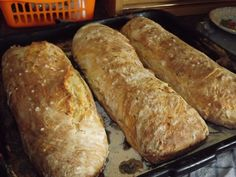 Domáce bagety Slovak Recipes, Russian Recipes, Fresh Bread, How To Make Bread, Bread Baking, Sweet Potato, Sandwiches, Food And Drink, Favorite Recipes