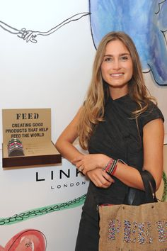 FEED for Links of London Press Launch at Harrods hosted by Lauren Bush, Co-Founder and CEO of the non-profit FEED Foundation.
