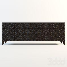 BLACK SIDEBOARD|  modern black furniture ideas  | bocadolobo.com/ #modernsideboard #sideboardideas