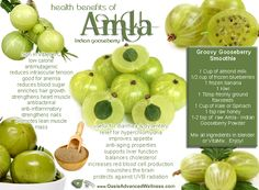 Health Benefits of Amla - Indian Gooseberry
