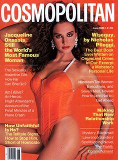 Cosmopolitan magazine, JUNE 1986 Model: Jill Goodacre Photographer: Francesco Scavullo
