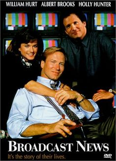 Broadcast News - pretty good depiction of the news business, of course the equipment is wildly outdated now.  Nice performances.