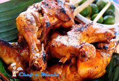 How to Cook Chicken Inasal Recipe of Mang Inasal - Ingredients 1 kg Chicken (cut like mang inasal do) 2 tbsp Minced Garlic 1 cup Chopped Lemongrass (tanlad) 2 tbsp Minced Ginger 1/2 cup Calamansi Juice 1 cup Coconut Vinegar 1 tbsp Slat 4 tbsp Muscovado Sugar 1 cup Sprite 1 1/2 tsp Freshly Ground Black Pepper  Basting 4 tbsp Atsuete Oil (annatto oil) 1/2 cup Melted Margarine Pinch of Salt 1 tsp Calamansi Juice  Procedure In a medium or large mixing bowl combine all marinade ing
