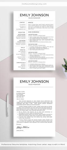16 Besten Cv Design Bilder Auf Pinterest Briefvorlagen