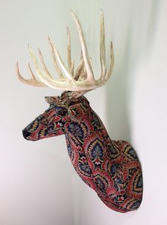 Kelly Jelinek's Animal Sculptures Combine Taxidermy and Upholstery | Hi-Fructose Magazine