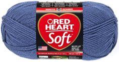 Amazon.com: Red Heart E728.9779 Soft Yarn, Berry