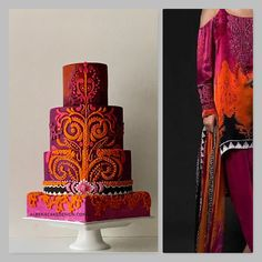 Albena's wedding cakes are unique and intricate works of art. Handmade and each more beautiful than the other. Unique Wedding Cakes, Unique Weddings, Gorgeous Cakes, Amazing Cakes, Gatsby Theme, Dress Cake, Fashion Cakes, Love Cake, Creative Cakes