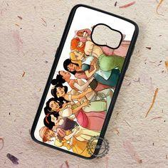 Princesses Train Ariel Jasmine Disney - Samsung Galaxy S7 S6 S5 Note 7 Cases & Covers