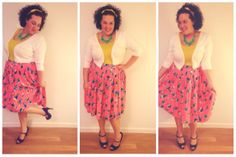 ASOS skirt from Gwynnie Bee...check out more plus size fashion on my blog www.beautyandthebutcher.wordpress.com