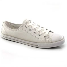 Tênis Converse All Star CT Dainty Leather de Couro  d73acc3bad078