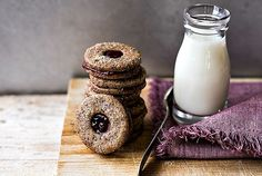 Biscotti al grano saraceno senza lattosio