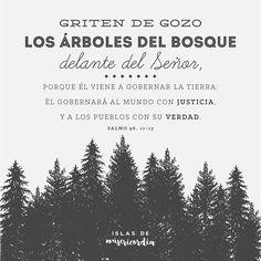Islas de Misericordia by Sarai Llamas - Árboles del bosque - Salmo 96, 12-13…
