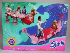Sindy Magic Dream Boat Night in Venice Gondola Play Set Hasbro New Sealed Box Sindy Doll, Doll Toys, Boat Table, Bride Dolls, Valley Of The Dolls, Mermaid Dolls, Mermaid Princess, Miniature Crafts, Barbie And Ken