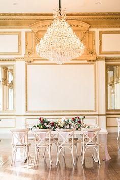 Vintage Alexandria Ballrooms Styled Shoot | Southern California Wedding Ideas and Inspiration