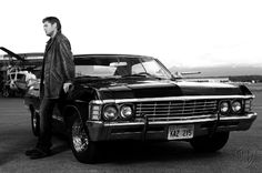 '67 chevy impala - two things in this pic make him max payne