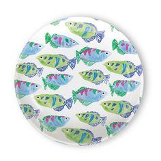 Reef Melamine Topper Plate