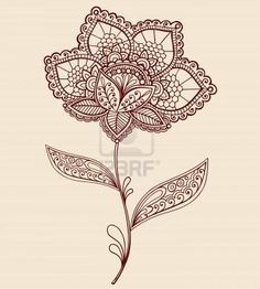 Flower Lace Tattoo. Probably my favorite design… Need to cover up the one on my wrist. This would be pretty with lots of color